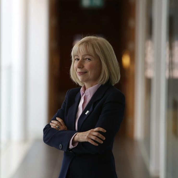 Prof Anna Dominiczak, Regius professor of medicine and heart specialist, Glasgow University photographed at here base in  the Wolfson Medical School Building of Glasgow  University    Pictures Martin Shields Herald and Times Group.